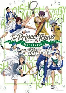 """Anime: Nuevas imágenes de las OVA's de """"The Prince of Tennis BEST GAMES!!"""""""