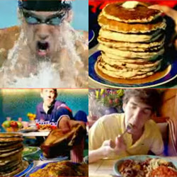 "Michael Phelps loves junk food - ""Bellow the surface"" autobiography"