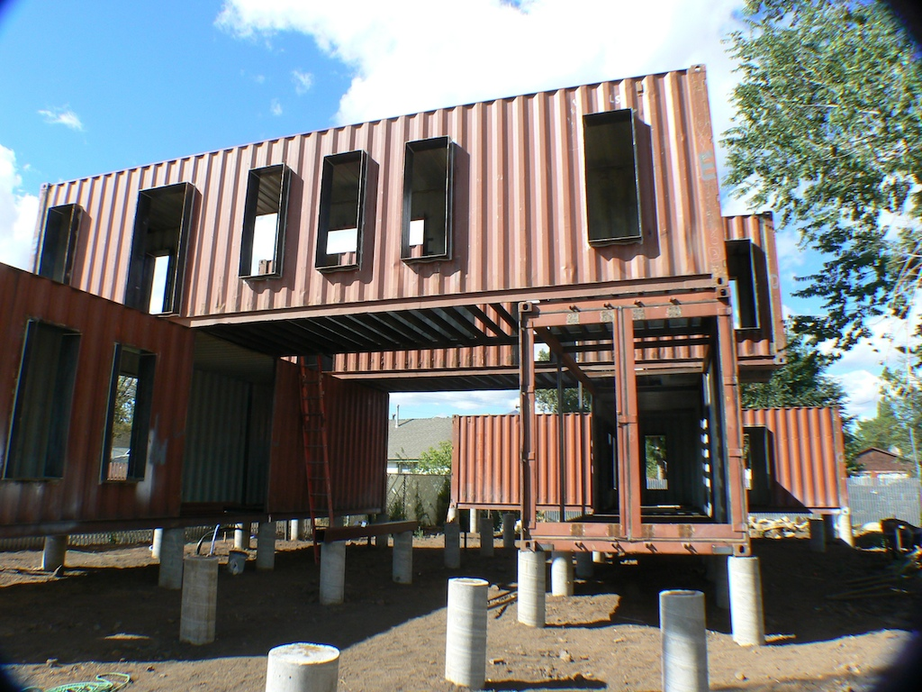 shipping container office ~ container homes plans