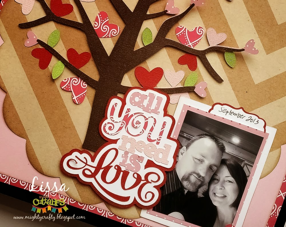 All You Need Is Love for Miss Kate Cuttables -- www.MightyCrafty.me