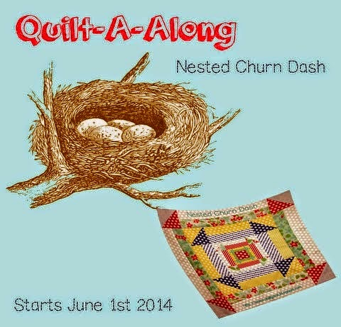 Quilt Jane's Churn Dash QAL