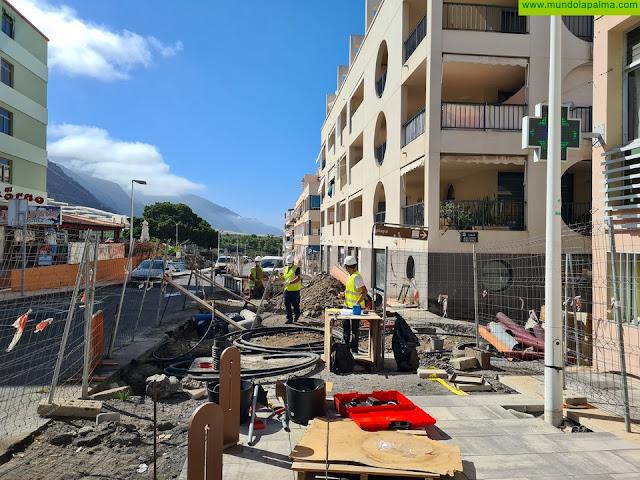 El Cabildo reanuda las obras de reurbanización de Puerto Naos para que sea más accesible y moderno