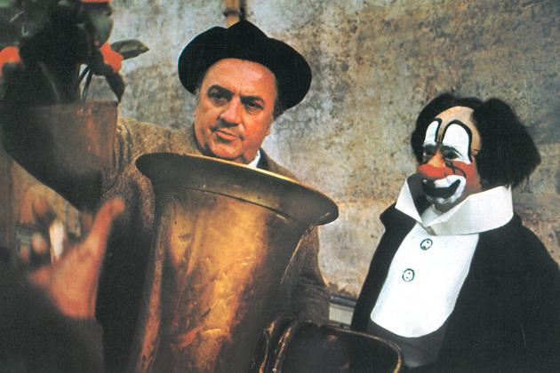 «Клоуны», Режиссёр Федерико Феллини
