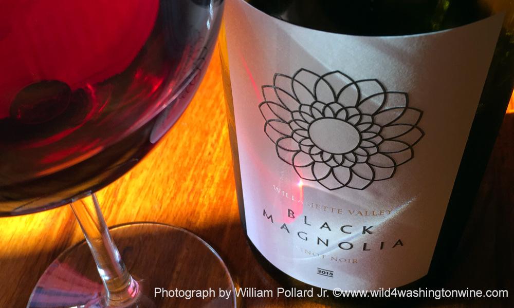Delightfully Drinkable | Black Magnolia 2015 Pinot Noir Willamette