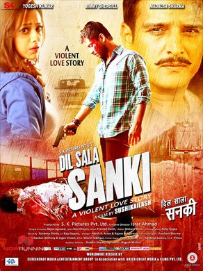 Dil Sala Sanki 2016 Hindi 720p WEB HDRip 800mb