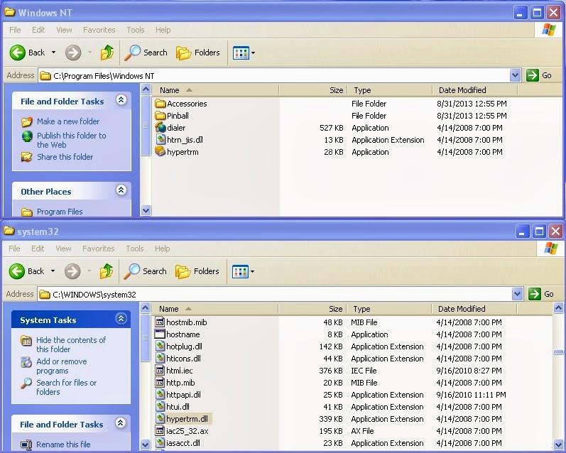 Hyper terminal Download Free