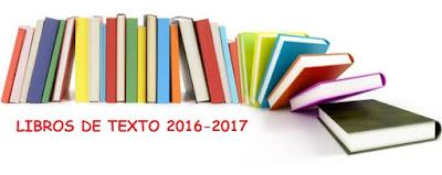 LIBROS TEXTO CURSO 2016-2017
