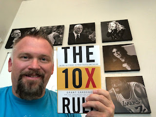 BridgeHouse Marketing | Terry Jensen | The BridgeHouse Book Club | The 10X Rule by Grant Cordone