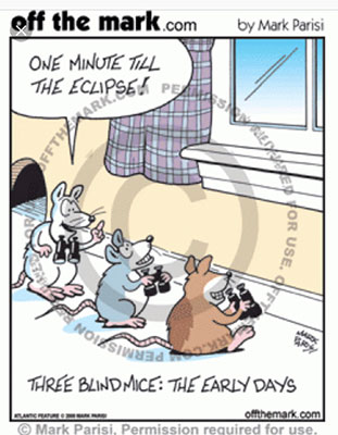 The Three Blind Mice: The Early Days (Source: Mark Parisi)