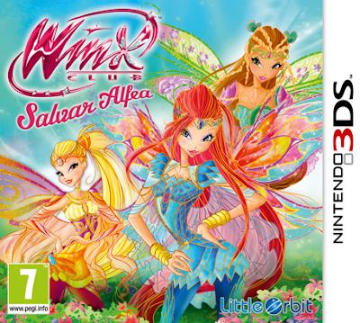 Winx Club Saving Alfea CIA 3DS EUR