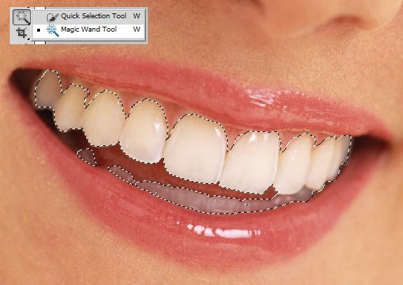 كيف تقوم بتبييض الأسنان بالفوتوشوب