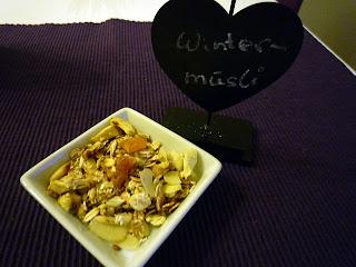 Rezept Birne-Bratapfel Müsli