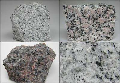 Handspecimen granit