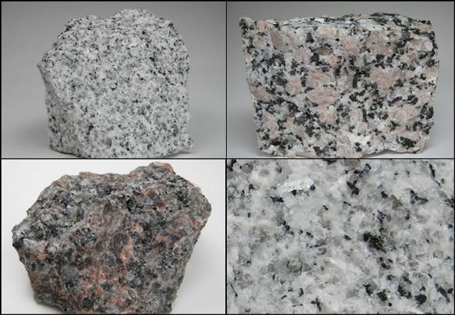Handspecimen batu granit