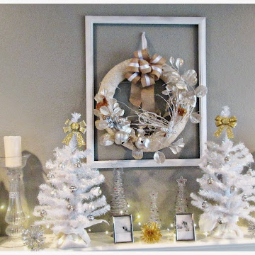 White and Metallic Christmas