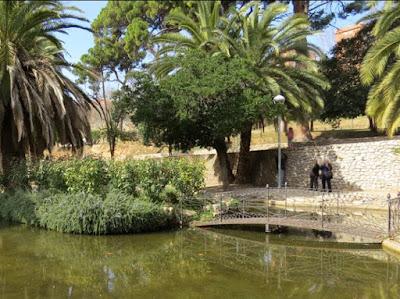 Lago en el Parque de Can Mercader