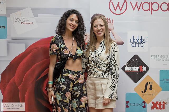 Maray Alvarez y Mai de Maikshine en Wapapop Sevilla