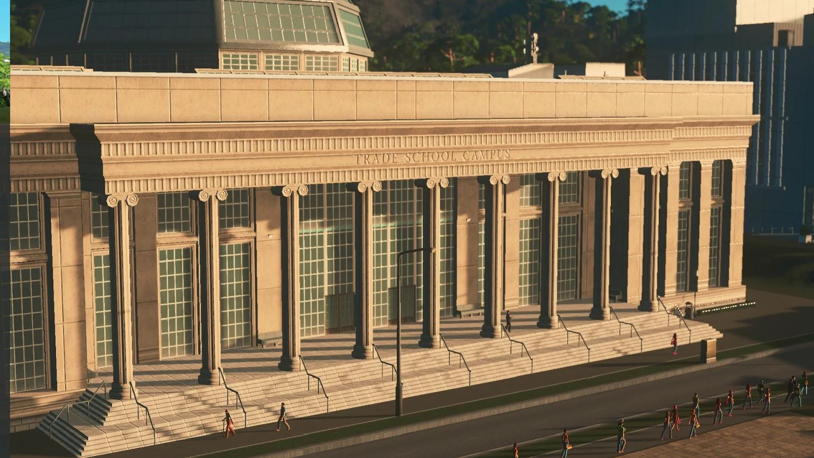 Cities Skylines Campus PC ESPAÑOL (CODEX) 3