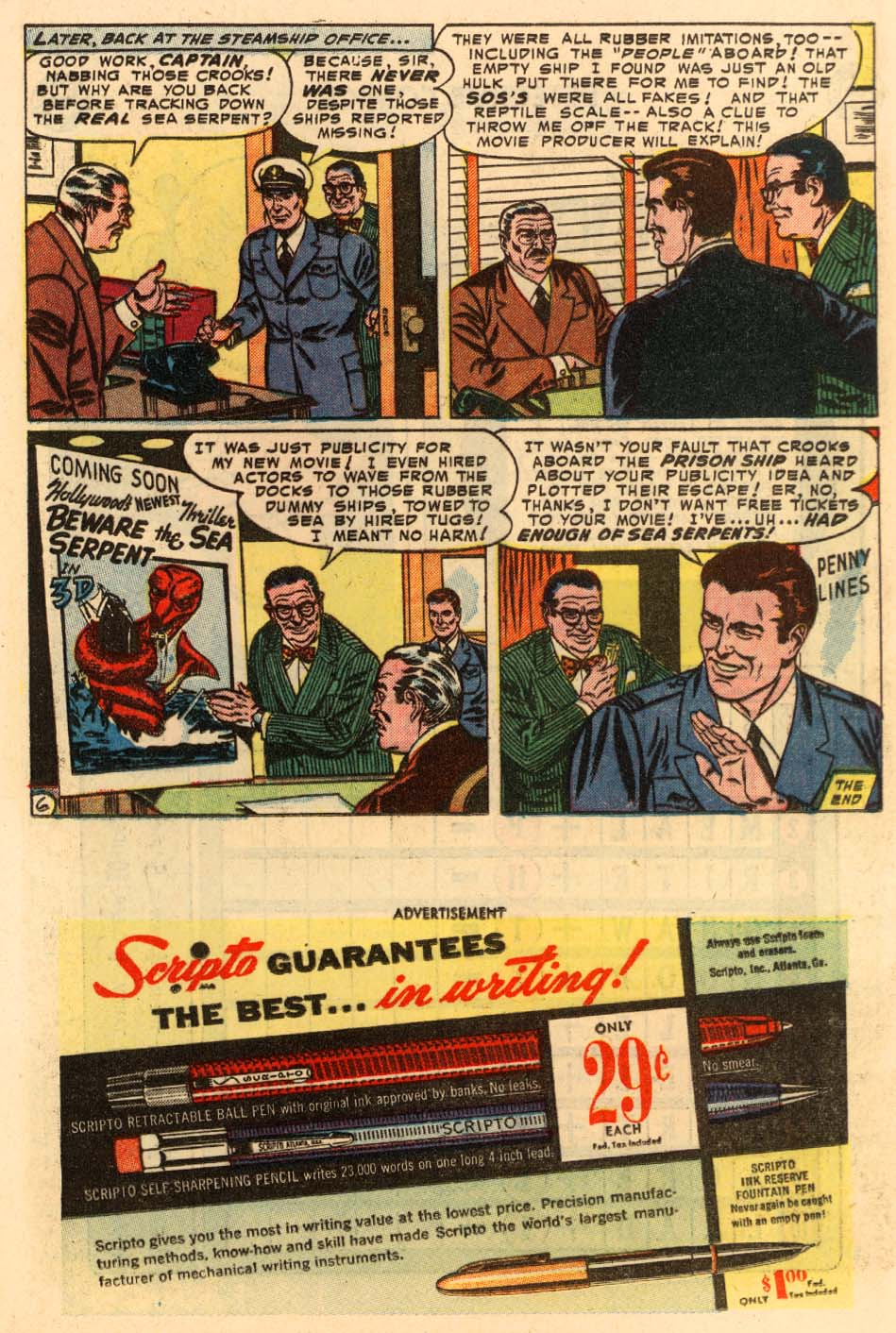Read online Detective Comics (1937) comic -  Issue #207 - 25