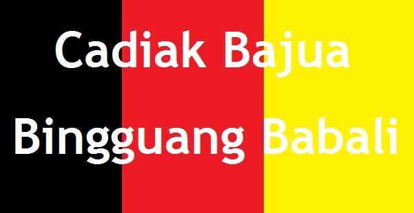 bahasa minangkabau