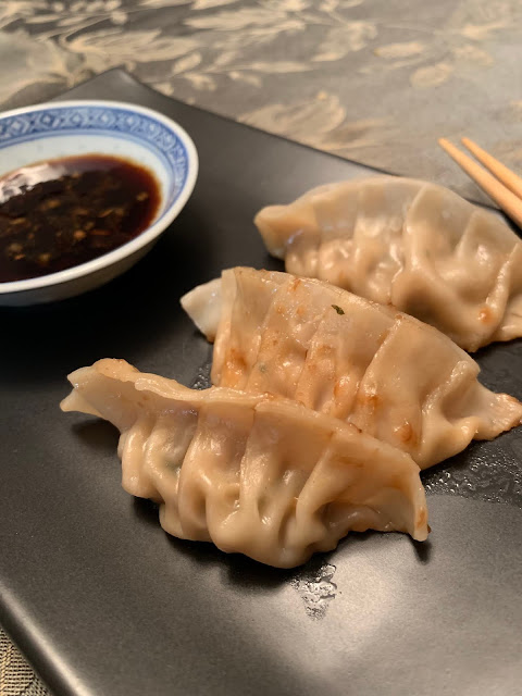 Chinese Dumplings or Pot-Stickers