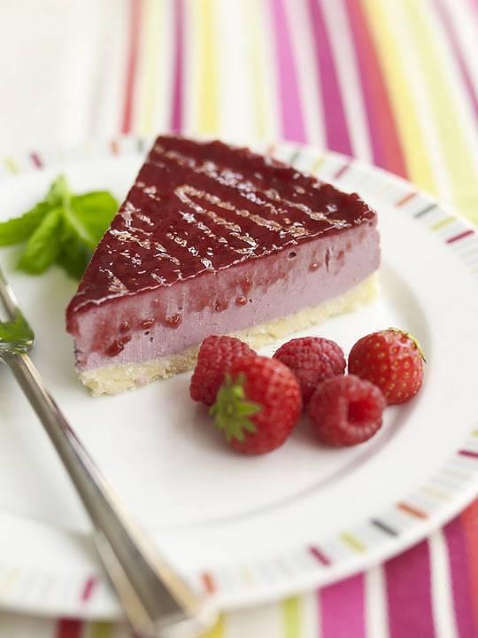 Berry Coconut Cheesecake: Gluten, Wheat, Dairy Free