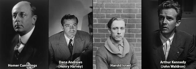 Homer Cummings, Dana Andrews, Harold Israel, Arthur Kennedy - Boomerang! (1947)