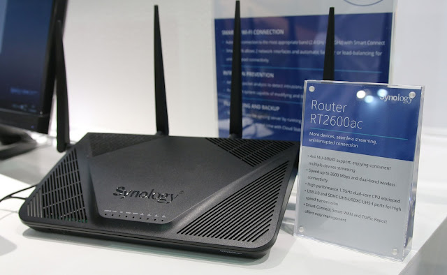 Synology reveals its RT2600ac router at Computex- Best ROuter on the market