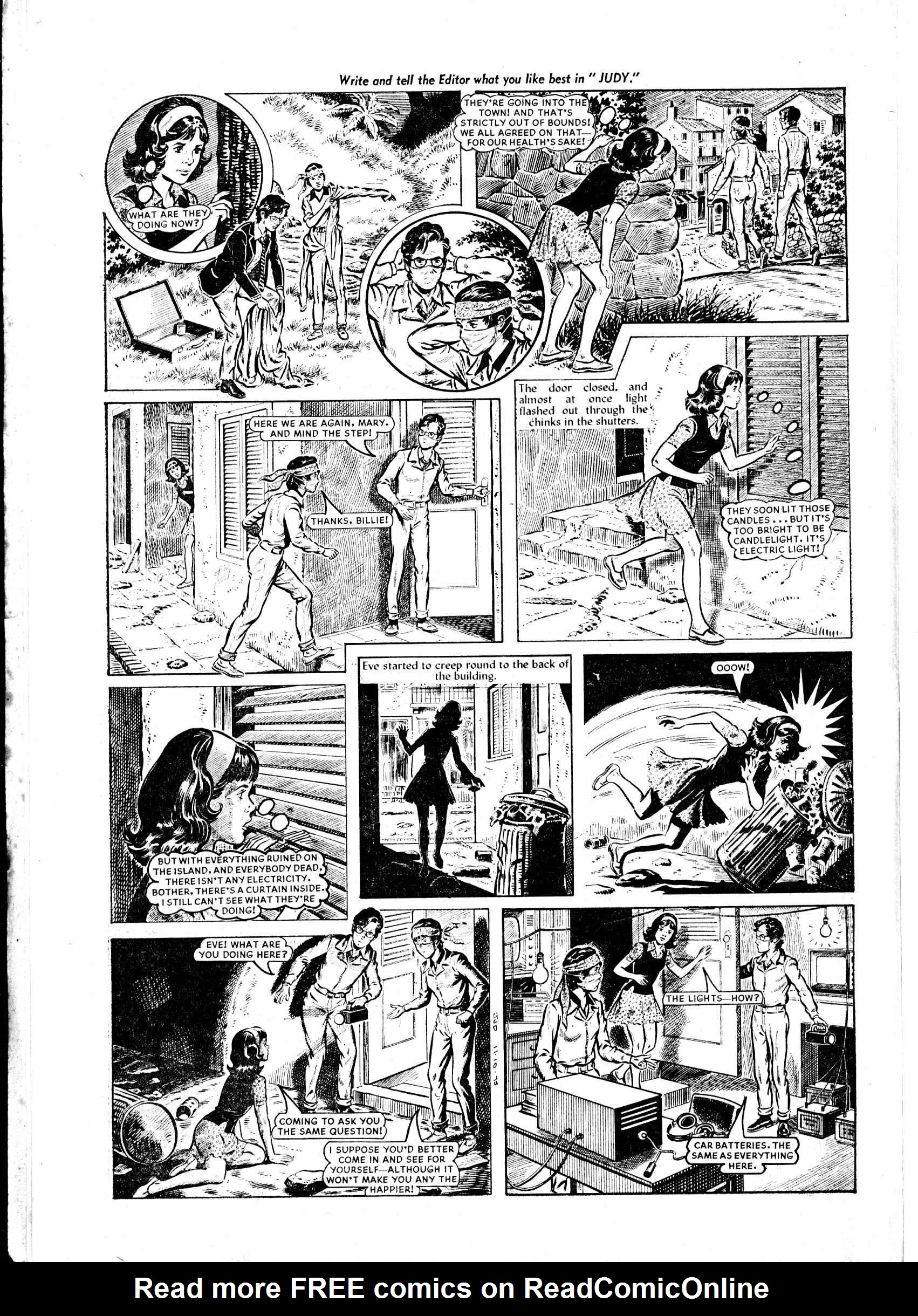 Read online Judy comic -  Issue #822 - 10