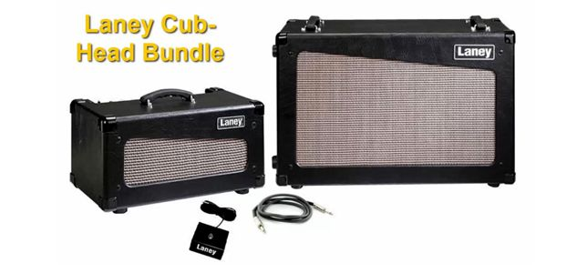 Amplificador Stack Laney Cub-Head Bundle