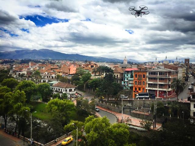Quito desde el aire