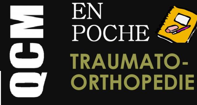 QCM En Poche de Traumatologie Orthopédie PDF