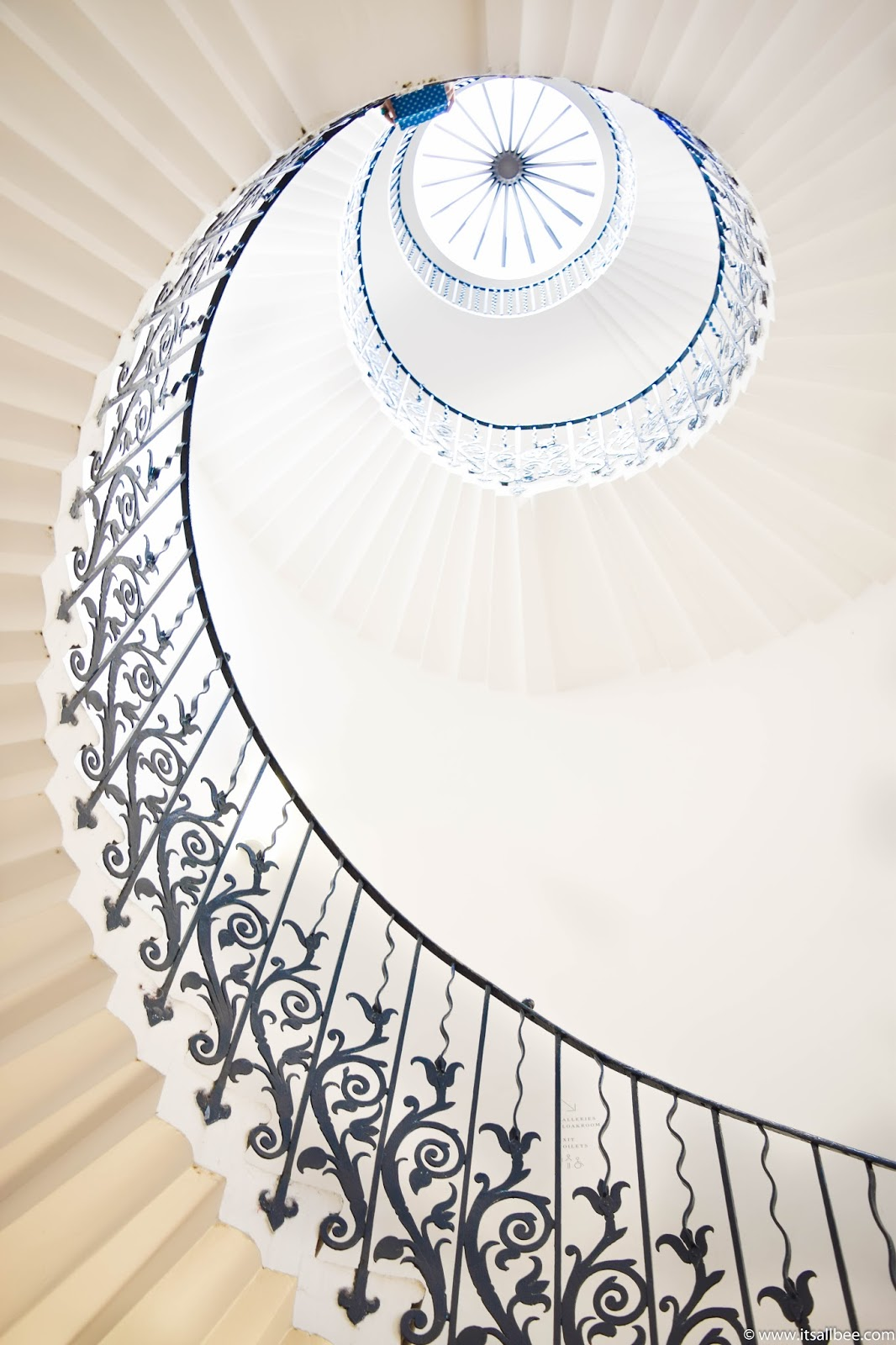 tulip staircase greenwich, tulip stairs london, tulip stairs queen's house