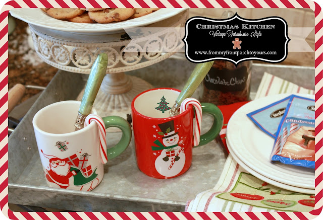 Vintage Farmhouse Christmas Kitchen-Country Living- Hometalk-From My Front Porch To Yours