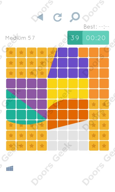 Cheats, Walkthrough for Blocks and Shapes Medium Level 57