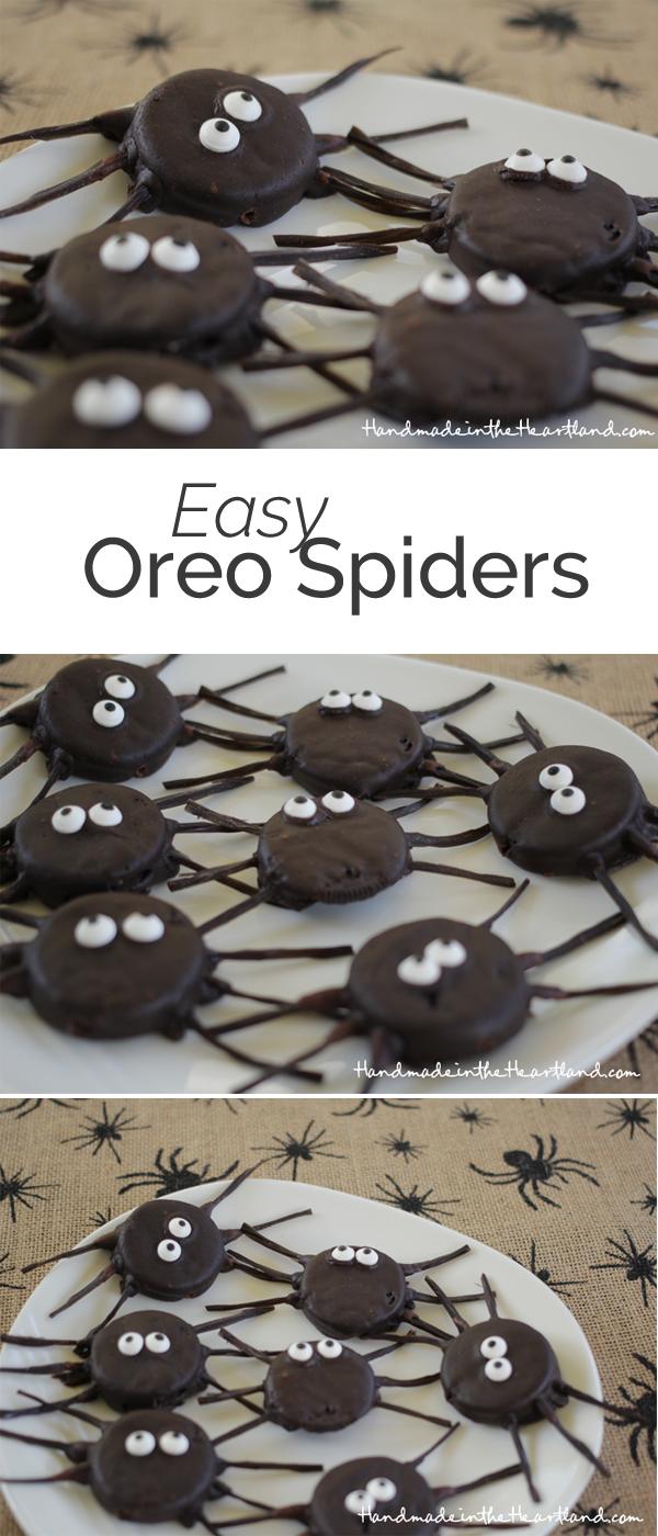 Easy Oreo Spiders