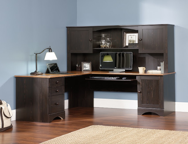 best buy corner Costco Ryland office furniture with hutch for sale cheap