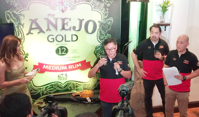 Añejo Gold Medium Rum Davao Launch