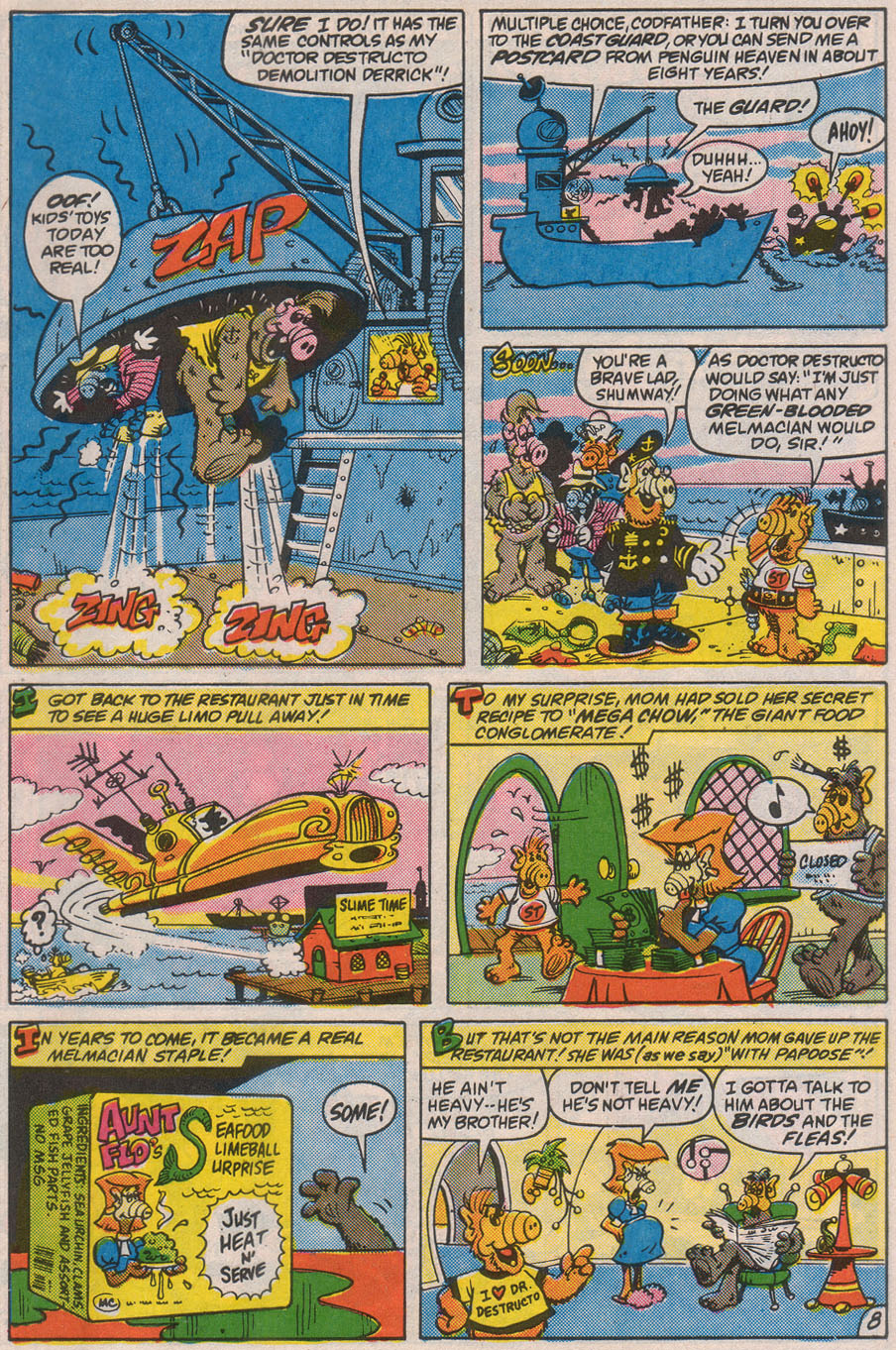 Read online ALF comic -  Issue #8 - 31