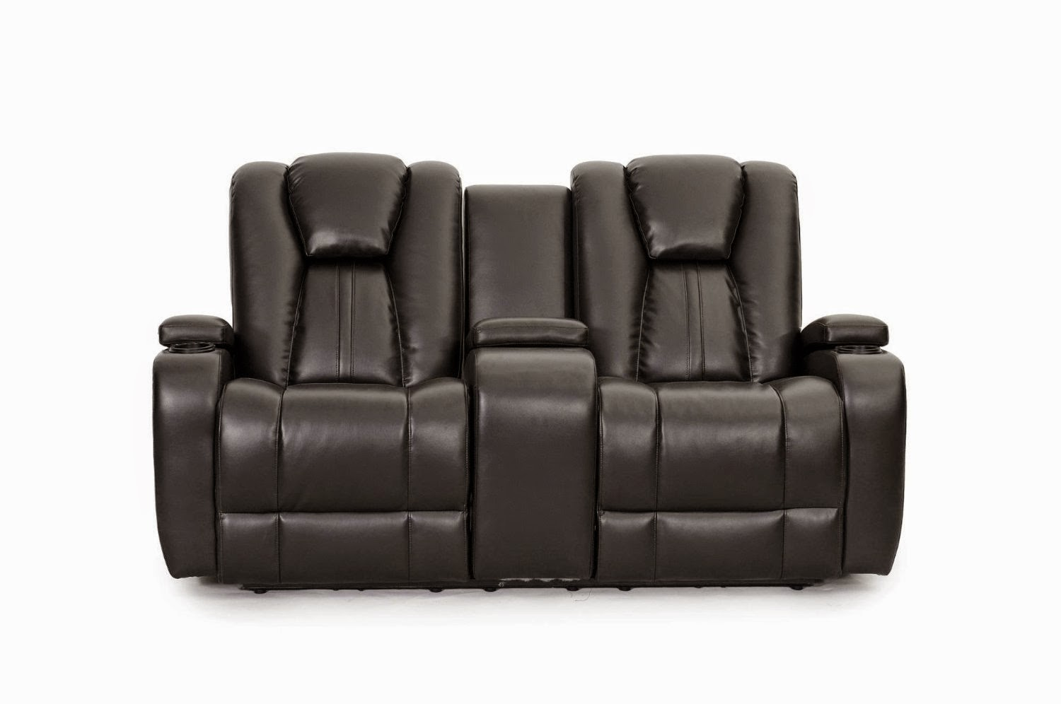 SeatCraft Black Reclining Sofa With Center Console  sc 1 st  Modern Cheap Reclining Sofa Reviews - blogger : lane reclining sofas and loveseats - islam-shia.org