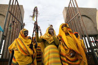 International Day of Peace, Falata community celebrating peace at the Al Zubir Stadium in El Fasher, North Darfur