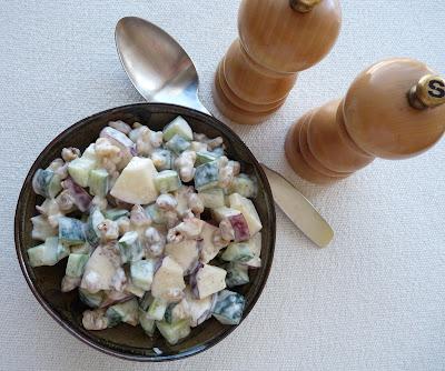 Cucumber Waldorf Salad