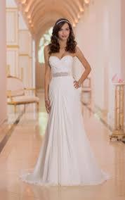 vestido de noiva simples com transparência
