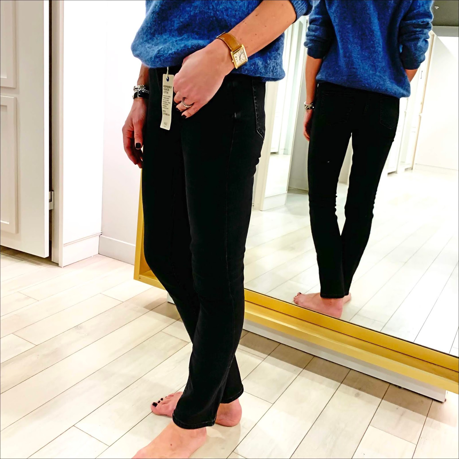 my midlife fashion, marks and spencer 360 contour mid rise slim leg jeans