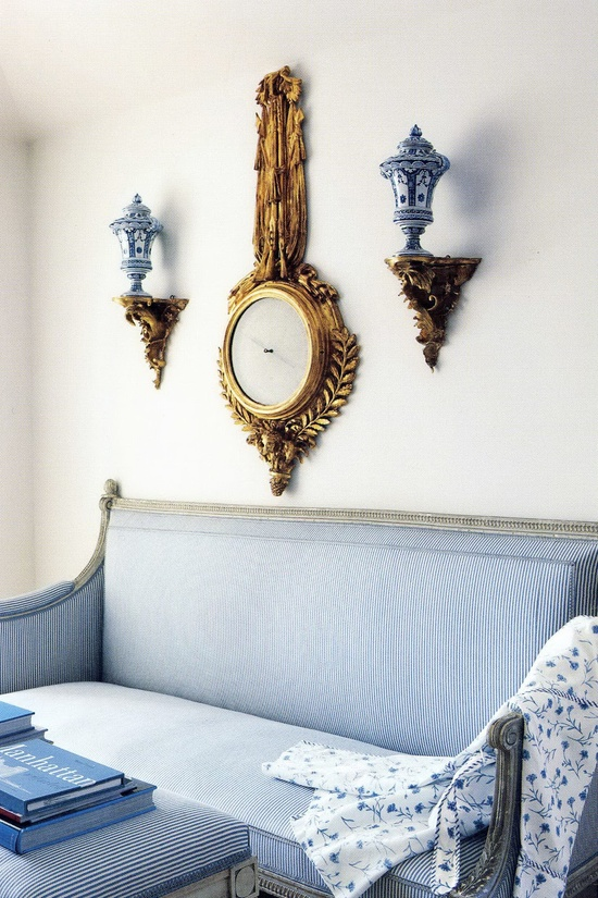 Wall Colour Inspiration: Calling All Blue And White Lovers!!