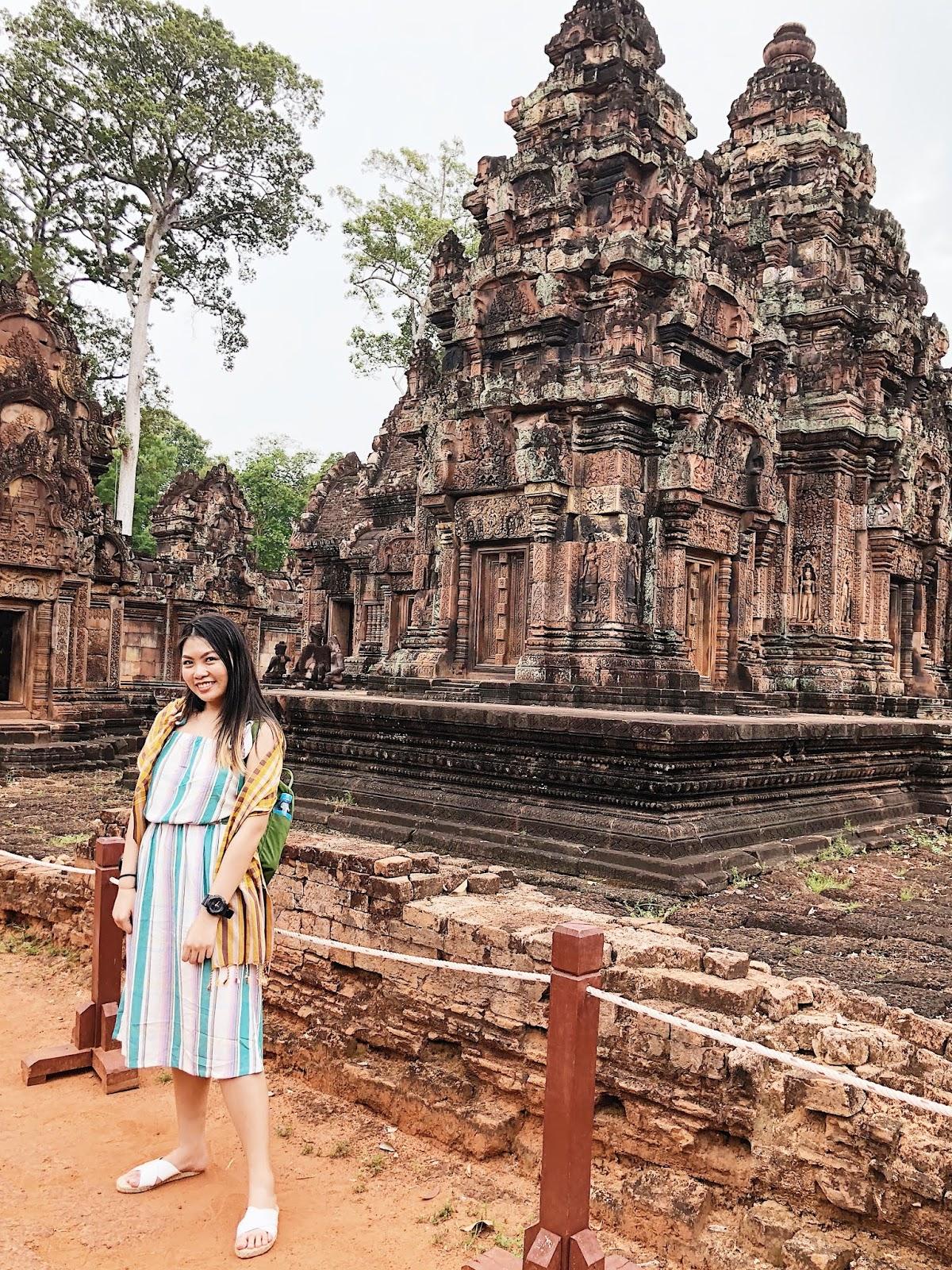 Me inside Banteay Srei