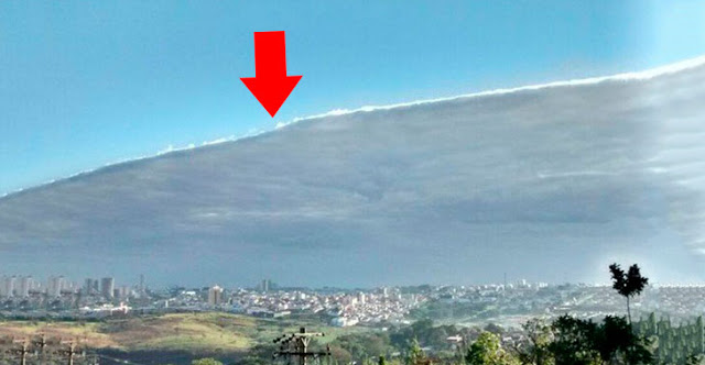 Nuvens Estranhas - Sinal da Volta de Jesus no Céu aqui no Brasil e no Mundo