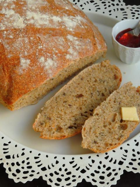 Vegan Seeds Spelt Bread, Spelt Bread