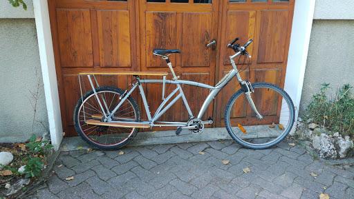 Fabrication d'un vélo cargo allongé électrique