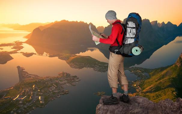 Turismo con mochila